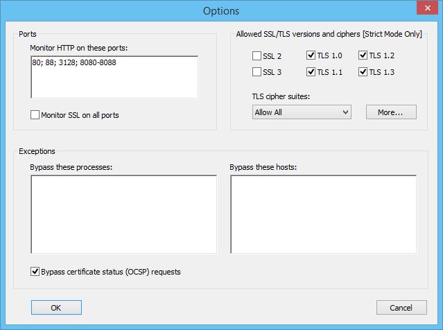 SSL Enforcer - Force SSL/TLS encryption for any browser or